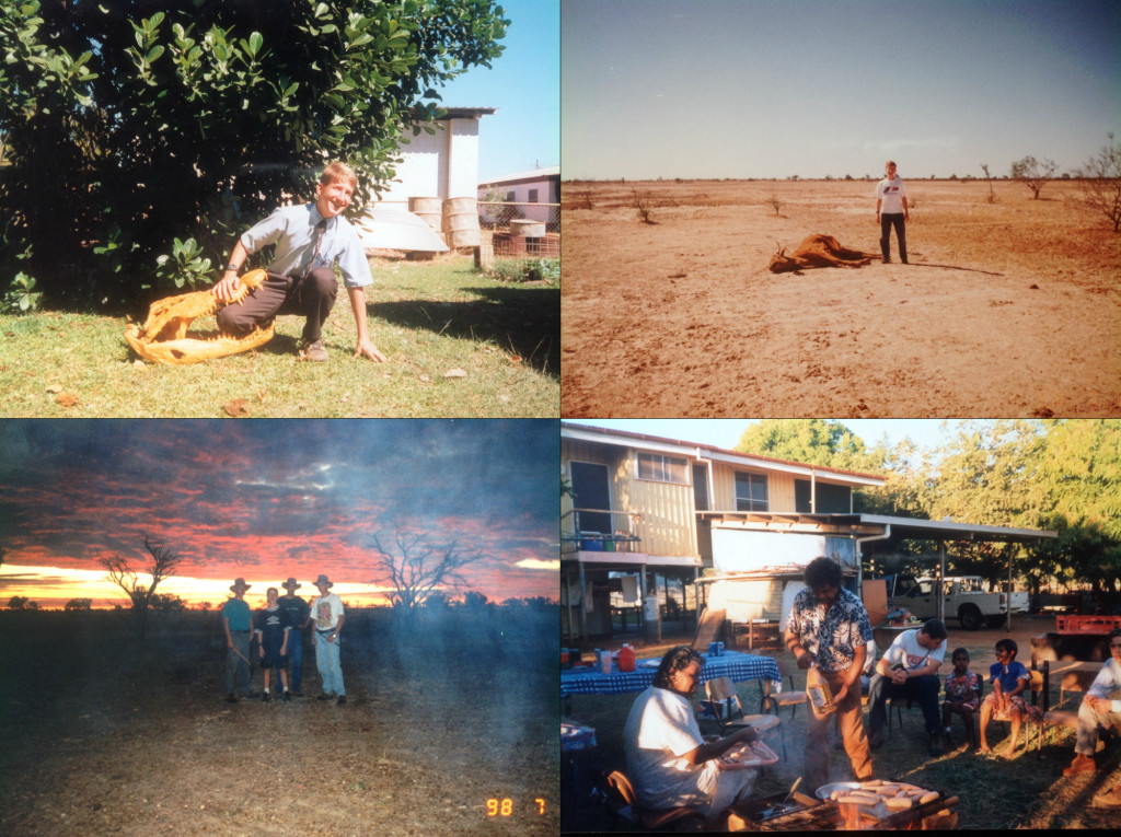 Visiting the Outback in 1998